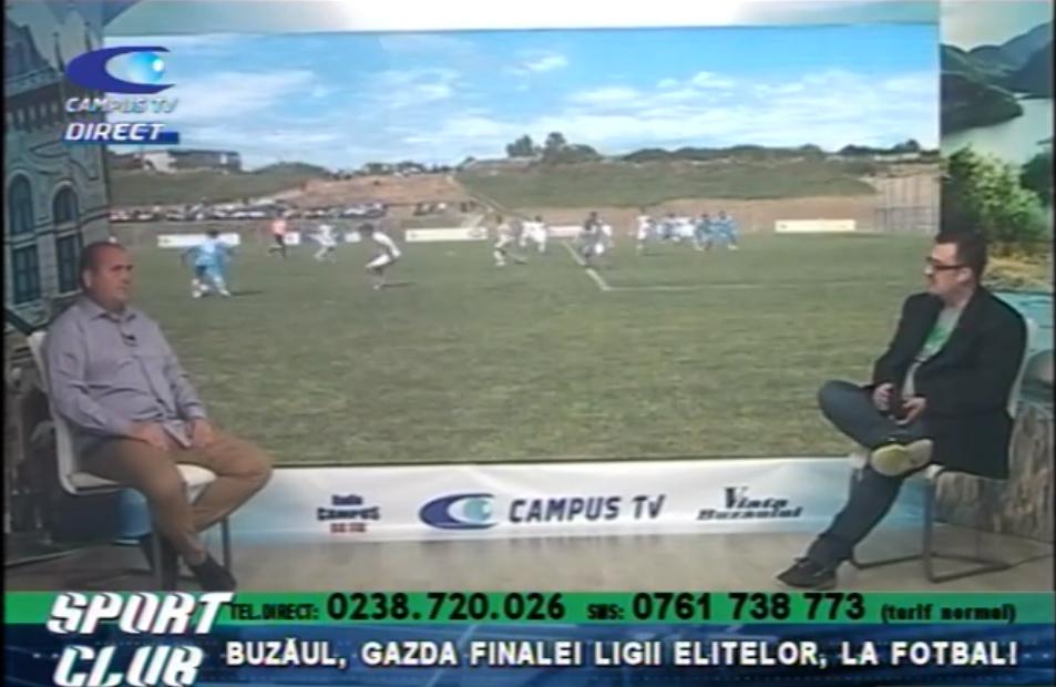 Buzăul, gazda finalei Ligii Elitelor, la fotbal
