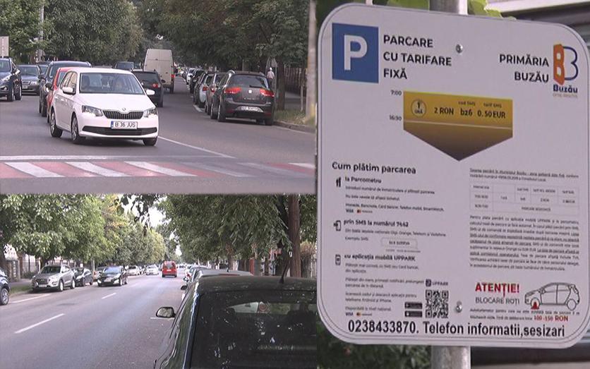 Parcare cu plată. 50 de locuri noi pe Titulescu