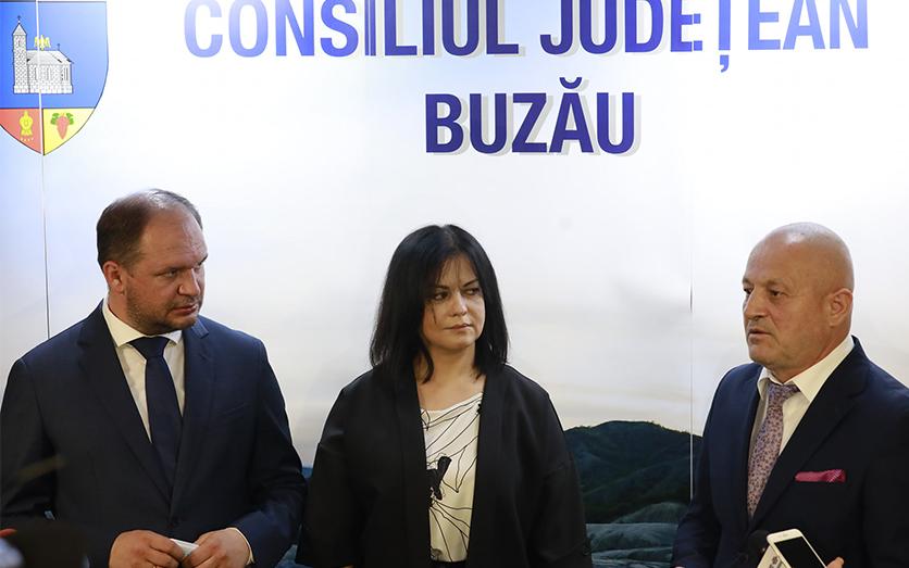 Zilele Chișinăului la Buzău. Evenimentul este organizat de Consiliul Județean
