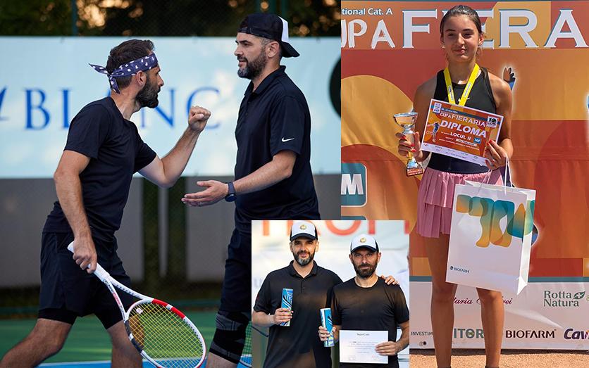 Campioni la fileu, câștigători în viață. Donație de 3.000 de euro, pentru o tenismenă din Buzău