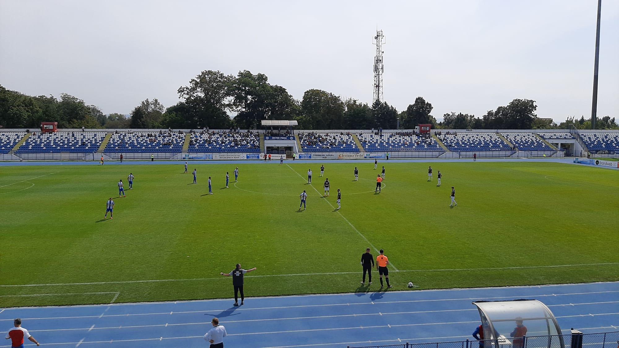 Victorie, în Copou ! FC Buzău se impune la Iași !