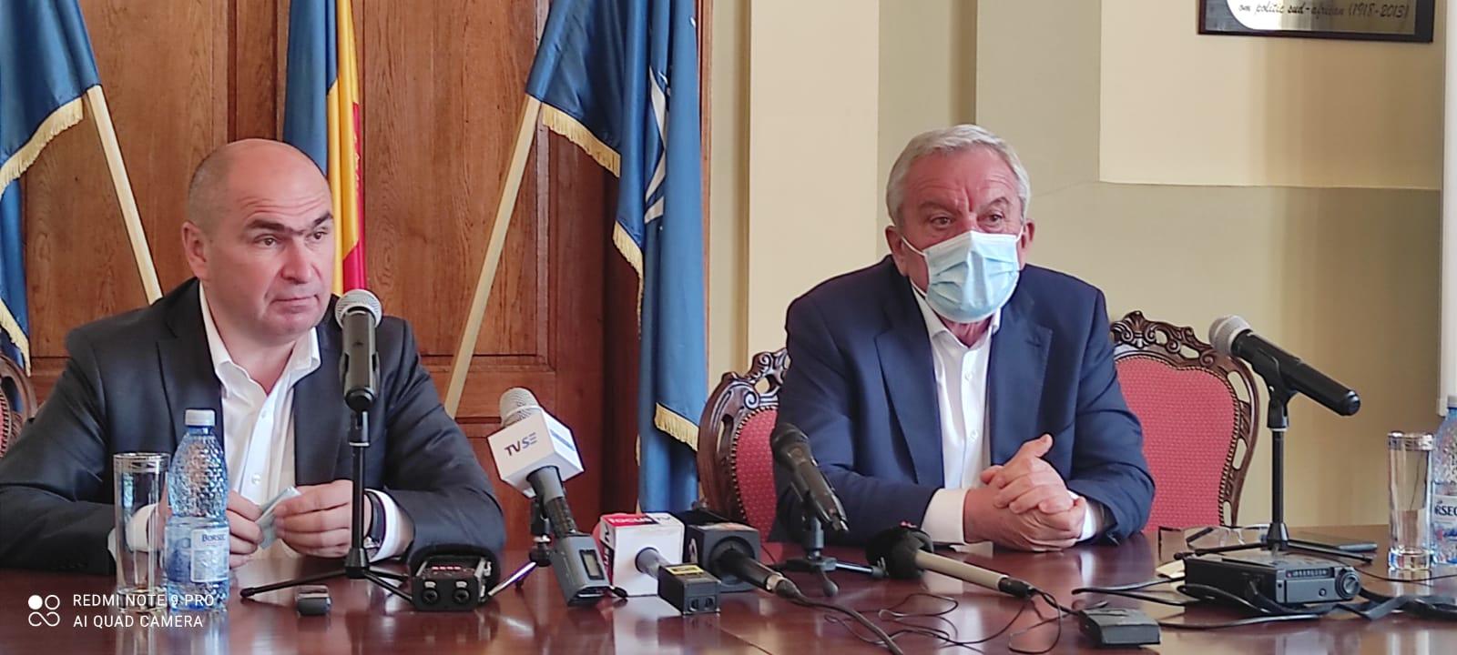 """Un liberal """"pentru"""" Referendum. Ilie Bolojan în vizită la Buzău"""