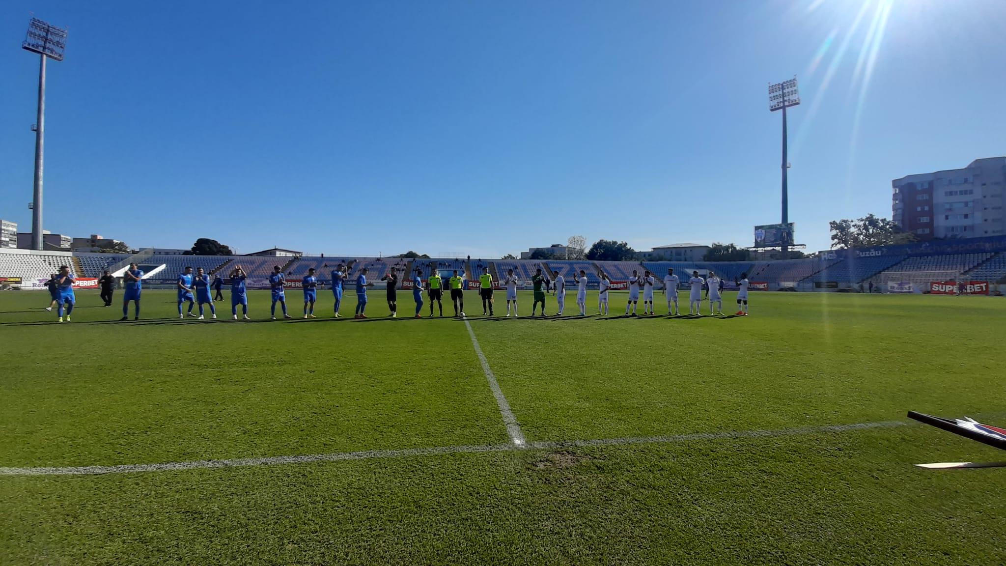 Doar egal, cu Viitorul Pandurii. FC Buzău n-a reușit să prelungească seria succeselor